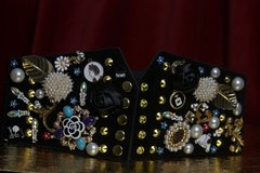 SOLD! 1780 Madam Coco Embellished Brooches Waist Corset Belt