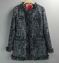 1708 Limited Edition Madam Coco 2 Colors Tweed Jacket Blazer