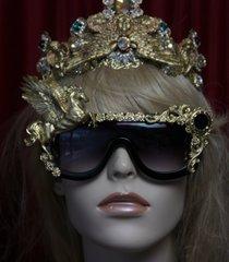 SOLD!1873 Baroque Unisex Gold Pegasus Fancy sunglasses