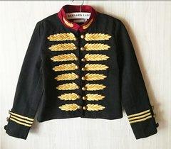 169 Military Woolen Embelished Jacket Blazer