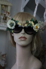SOLD!  376 Knockout Frog Lilly Snake One OF A Kind Fancy Eyewear Sunglasses