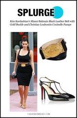 289 Runway Designer Inspired Balm Waist Belt Size S, M
