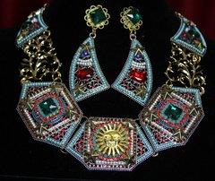 SOLD! 1786 Byzantine Baroque sun Crystal Set