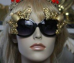 1305 Spring 2017 Designer Inspired Baqroque Pineapple Sunglasses