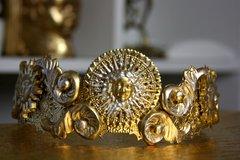 SOLD! 1492 Art Deco Revival Medusa Sun Crown Headband