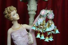 SOLD! 2119 Marie Antoinette Victorian Earrings