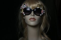 SOLD! 207Geisha Japanese Sakura Unusual Fancy Sunglasses Eye Wear