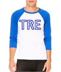 3/4 Sleeved Sorority/Fraternity Shirt with Letters