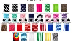 Greek Velour Beach Towels - Many Colors Available