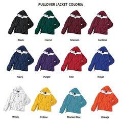 Sorority/Fraternity Greek Letter Pullover Jackets