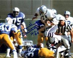 Mike Ditka autograph 8x10, Dallas Cowboys, HOF 88