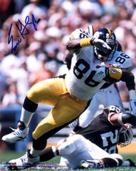 Eric Green autograph 8x10, Pittsburgh Steelers