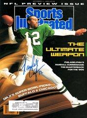 Randall Cunningham autograph Sep 11 1989 SI Magazine, Eagles