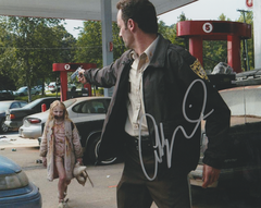 Addy Miller autograph 8x10, The Walking Dead (with Rick)