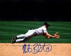 Mike Bordick autograph 8x10, Baltimore Orioles