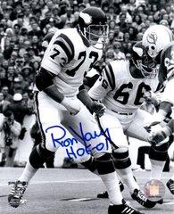 Ron Yary autograph 8x10, Minnesota Vikings, HOF 01