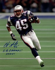 Otis Smith autograph 8x10, New England Patriots with inscription