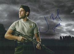 Jon Bernthal autograph 8x10, Walking Dead, with inscription