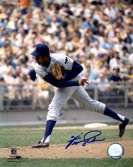 Fergie Jenkins, autographed 8x10, Chicago Cubs