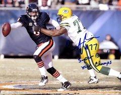 Cullen Jenkins autograph 8x10, Green Bay Packers, SB inscription