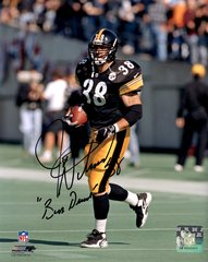 Jon Witman autograph 8x10, Pittsburgh Steelers, Bus Driver