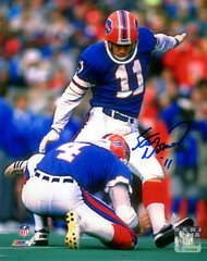 Scott Norwood autograph 8x10, Buffalo Bills