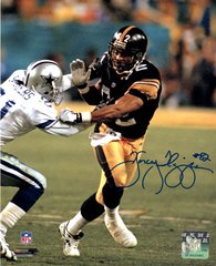 Yancey Thigpen autograph 8x10, Pittsburgh Steelers