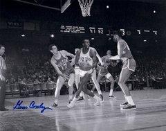 Gene Conley, autographed 8x10, Boston Celtics