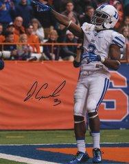 Jamison Crowder autograph 8x10, Duke