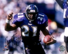 Ernest Byner autograph 8x10, Baltimore Ravens
