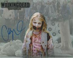 Addy Miller autograph 8x10, The Walking Dead, Teddy Bear Girl