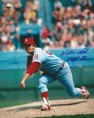 Wilbur Wood autograph 8x10, Chicago White Sox with inscriptions