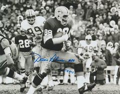 Dave Robinson autograph 8x10, Green Bay Packers, Inscription: HOF 13