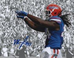 Matt Jones autograph 8x10, Florida Gators
