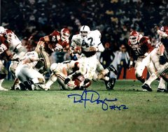 D.J. Dozier autograph 8x10, PSU
