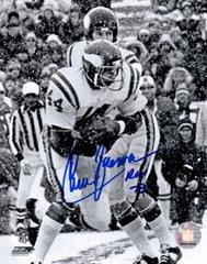 Chuck Foreman autograph 8x10, Minnesota Vikings