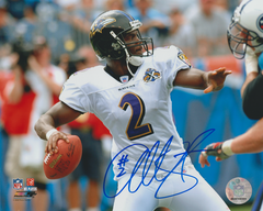Anthony Wright autograph 8x10, Baltimore Ravens