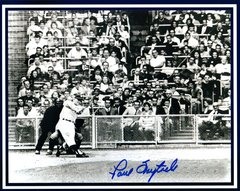 Paul Foytack autograph 8x10, Detroit Tigers, Maris 1st HR in 61