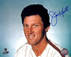 Jim Kaat autograph 8x10, Philadelphia Phillies