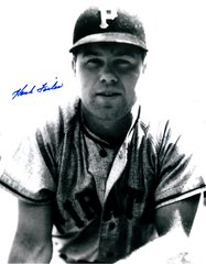 Hank Foiles autograph 8x10, Pittsburgh Pirates