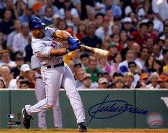 Julio Franco autograph 8x10, New York Mets