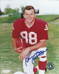 Sonny Randle autograph 8x10, St Louis Cardinals