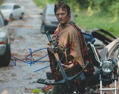 Norman Reedus autograph 8x10, Walking Dead
