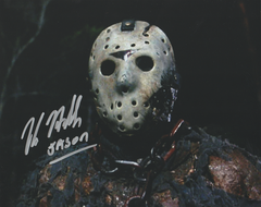 Kane Hodder autograph 8x10, Friday the 13th part VII