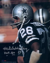 Herb Adderley autograph 8x10, Dallas Cowboys, HOF 80