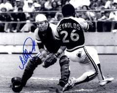 Ed Ott, autographed 8x10, Pittsburg Pirates