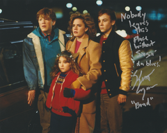 Keith Coogan autograph 8x10 Adventures of Babysitting MUST LOOK insciption