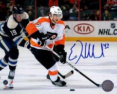 Eric Wellwood autograph 8x10, Philadelphia Flyers