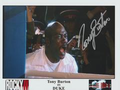 Tony Burton autograph 8x10, no inscription Rocky IV