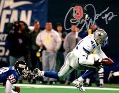 Chris Warren autograph 8x10, Dallas Cowboys